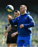29 March 2019; Seán O'Brien during the Leinster Rugby captain's run at the Aviva Stadium in Dublin. Photo by Ramsey Cardy/Sportsfile