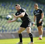 29 March 2019; Cian Healy during the Leinster Rugby captain's run at the Aviva Stadium in Dublin. Photo by Ramsey Cardy/Sportsfile