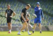 29 March 2019; Garry Ringrose during the Leinster Rugby captain's run at the Aviva Stadium in Dublin. Photo by Ramsey Cardy/Sportsfile