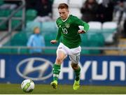 24 March 2019; Connor Ronan of Republic of Ireland the UEFA European U21 Championship Qualifier Group 1 match between Republic of Ireland and Luxembourg in Tallaght Stadium in Dublin. Photo by Eóin Noonan/Sportsfile