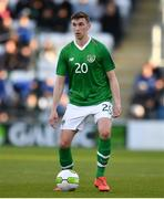 24 March 2019; Conor Masterson of Republic of Ireland the UEFA European U21 Championship Qualifier Group 1 match between Republic of Ireland and Luxembourg in Tallaght Stadium in Dublin. Photo by Eóin Noonan/Sportsfile