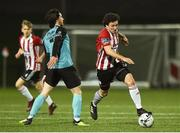 29 March 2019; Barry McNamee of Derry City in action against Ronan Coughlan of Sligo Rovers during the SSE Airtricity League Premier Division match between Derry City and Sligo Rovers at Ryan McBride Brandywell Stadium in Derry. Photo by Oliver McVeigh/Sportsfile