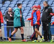 30 March 2019; Joey Carbery of Munster is substituted during the Heineken Champions Cup Quarter-Final match between Edinburgh and Munster at BT Murrayfield Stadium in Edinburgh, Scotland. Photo by Paul Devlin/Sportsfile