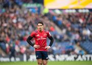 30 March 2019; Joey Carbery of Munster in action during the Heineken Champions Cup Quarter-Final match between Edinburgh and Munster at BT Murrayfield Stadium in Edinburgh, Scotland. Photo by Paul Devlin/Sportsfile
