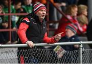 30 March 2019; Louth manager Wayne Kierans, serving a touchline suspension, during the Allianz Football League Roinn 3 Round 6 match between Louth and Westmeath at the Gaelic Grounds in Drogheda, Louth. Photo by Oliver McVeigh/Sportsfile