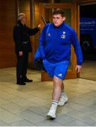 30 March 2019; Tadhg Furlong of Leinster arrives prior to the Heineken Champions Cup Quarter-Final between Leinster and Ulster at the Aviva Stadium in Dublin. Photo by Ramsey Cardy/Sportsfile