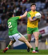30 March 2019; Daire O'Donnell of Donegal in action against Séamus Lavin of Meath during the Allianz Football League Division 2 Final match between Meath and Donegal at Croke Park in Dublin. Photo by Ray McManus/Sportsfile