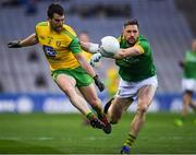 30 March 2019; Paddy McGrath of Donegal in action against Michael Newman of Meath during the Allianz Football League Division 2 Final match between Meath and Donegal at Croke Park in Dublin. Photo by Ray McManus/Sportsfile