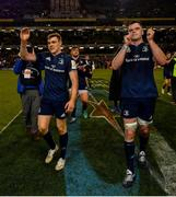30 March 2019; Garry Ringrose, left, and James Ryan of Leinster following the Heineken Champions Cup Quarter-Final between Leinster and Ulster at the Aviva Stadium in Dublin. Photo by Ramsey Cardy/Sportsfile