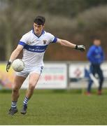 31 March 2019; Diarmuid Connolly of St Vincents in action during the Dublin Senior Football League Division 1 match between St. Vincents and St. Oliver Plunketts ER at St. Vincent's GAA Club in Clontarf, Dublin. Photo by Eóin Noonan/Sportsfile