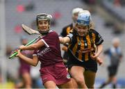 31 March 2019; Aoife Donohue of Galway in action against Claire Phelan of Kilkenny during the Littlewoods Ireland Camogie League Division 1 Final match between Kilkenny and Galway at Croke Park in Dublin. Photo by Ray McManus/Sportsfile