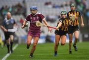 31 March 2019; Aoife Donohue of Galway in action against Michelle Teehan of Kilkenny during the Littlewoods Ireland Camogie League Division 1 Final match between Kilkenny and Galway at Croke Park in Dublin. Photo by Ray McManus/Sportsfile