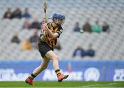 31 March 2019; Michelle Quilty of Kilkenny scores her side's first goal during the Littlewoods Ireland Camogie League Division 1 Final match between Kilkenny and Galway at Croke Park in Dublin. Photo by Piaras Ó Mídheach/Sportsfile