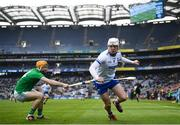 31 March 2019; Shane Bennett of Waterford in action against Richie English of Limerick during the Allianz Hurling League Division 1 Final match between Limerick and Waterford at Croke Park in Dublin. Photo by Stephen McCarthy/Sportsfile
