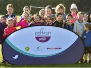 31 March 2019; Junior runners before the start of the parkrun Ireland in partnership with Vhi Ireland, at Burgess GAA Grounds, Kilcolman, Nenagh in  Co. Tipperary. parkrun Ireland expanded their range of junior events to 19 with the introduction of the Heritage junior parkrun on Sunday morning. Junior parkruns are 2km long and cater for 4 to 14-year olds, free of charge providing a fun and safe environment for children to enjoy exercise. To register for a parkrun near you visit www.parkrun.ie. Photo by Matt Browne/Sportsfile