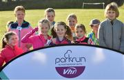 31 March 2019; Junior runners at the parkrun Ireland in partnership with Vhi Ireland, at Burgess GAA Grounds, Kilcolman, Nenagh in  Co. Tipperary. parkrun Ireland expanded their range of junior events to 19 with the introduction of the Heritage junior parkrun on Sunday morning. Junior parkruns are 2km long and cater for 4 to 14-year olds, free of charge providing a fun and safe environment for children to enjoy exercise. To register for a parkrun near you visit www.parkrun.ie. Photo by Matt Browne/Sportsfile