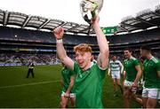 31 March 2019; Cian Lynch of Limerick celebrates following the Allianz Hurling League Division 1 Final match between Limerick and Waterford at Croke Park in Dublin. Photo by Stephen McCarthy/Sportsfile