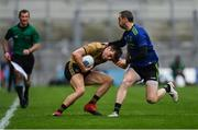 31 March 2019; Kevin McCarthy of Kerry in action against Keith Higgins of Mayo during the Allianz Football League Division 1 Final match between Kerry and Mayo at Croke Park in Dublin. Photo by Piaras Ó Mídheach/Sportsfile