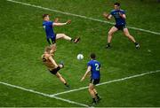 31 March 2019; Gavin Crowley of Kerry shoots to score his side's first goal during the Allianz Football League Division 1 Final match between Kerry and Mayo at Croke Park in Dublin. Photo by Ramsey Cardy/Sportsfile