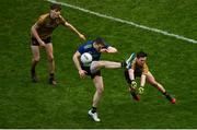 31 March 2019; Patrick Durcan of Mayo has a shot charged down by Paul Murphy of Kerry during the Allianz Football League Division 1 Final match between Kerry and Mayo at Croke Park in Dublin. Photo by Ramsey Cardy/Sportsfile