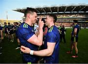 31 March 2019; Matthew Ruane, left, and Patrick Durcan of Mayo following the Allianz Football League Division 1 Final match between Kerry and Mayo at Croke Park in Dublin. Photo by Stephen McCarthy/Sportsfile