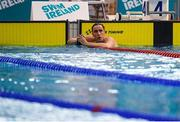 31 March 2019; Max McCusker of Dolphin SC, Co. Cork after competing in the Male 200m Freestyle Open 'B' Final  during the Irish Long Course Swimming Championships at the National Aquatic Centre in Abbotstown, Dublin. Photo by Harry Murphy/Sportsfile