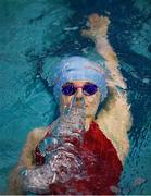 31 March 2019; Sophie Maguire of Drogheda SC, Co Louth, competes in the Female 200m Backstroke Open Final during the Irish Long Course Swimming Championships at the National Aquatic Centre in Abbotstown, Dublin. Photo by Harry Murphy/Sportsfile
