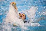 31 March 2019; Florence Tinsley of Ards SC, Co. Down, competes in the Female 200m IM Junior Final during the Irish Long Course Swimming Championships at the National Aquatic Centre in Abbotstown, Dublin. Photo by Harry Murphy/Sportsfile
