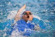 31 March 2019; Rebecca Reid of Ards SC, Co. Down, competes in the Female 200m IM Open Final during the Irish Long Course Swimming Championships at the National Aquatic Centre in Abbotstown, Dublin. Photo by Harry Murphy/Sportsfile