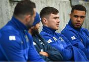 1 April 2019; Players, from right, Adam Byrne, Luke McGrath and Dave Kearney during Leinster squad training at Energia Park in Donnybrook, Dublin. Photo by David Fitzgerald/Sportsfile