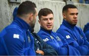 1 April 2019; Luke McGrath, centre, Dave Kearney, left, and Adam Byrne during Leinster squad training at Energia Park in Donnybrook, Dublin. Photo by David Fitzgerald/Sportsfile