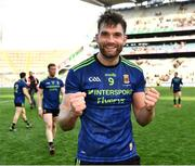 31 March 2019; Aidan O'Shea of Mayo celebrates after the Allianz Football League Division 1 Final match between Kerry and Mayo at Croke Park in Dublin. Photo by Ray McManus/Sportsfile