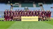31 March 2019; The Galway squad before the Littlewoods Ireland Camogie League Division 1 Final match between Kilkenny and Galway at Croke Park in Dublin. Photo by Piaras Ó Mídheach/Sportsfile