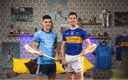 4 April 2019; Bord Gáis Energy has today announced the extension of its sponsorship of the GAA Hurling All-Ireland Senior Championship guaranteeing three more years of unmissable GAA rewards for its customers, including #HurlingToTheCore training camps. In attendance at the launch are hurlers Eoghan O'Donnell of Dublin, left, and Séamus Callanan of Tipperary in Croke Park, Dublin. For more information, see: bordgaisenergyrewards.ie. Photo by David Fitzgerald/Sportsfile