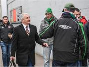 5 April 2019; Cork City manager John Caulfield arrives prior to the SSE Airtricity League Premier Division match between Cork City and Shamrock Rovers at Turners Cross in Cork. Photo by Stephen McCarthy/Sportsfile