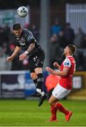 5 April 2019; Sean Murray of Dundalk in action against Conor Clifford of St Patrick's Athletic during the SSE Airtricity League Premier Division match between St Patrick's Athletic and Dundalk at Richmond Park in Dublin. Photo by Seb Daly/Sportsfile