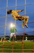5 April 2019; Cork City goalkeeper Mark McNulty during the SSE Airtricity League Premier Division match between Cork City and Shamrock Rovers at Turners Cross in Cork. Photo by Stephen McCarthy/Sportsfile
