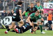 6 April 2019; Peter Robb of Connacht attempts to break through the Zebre defence during the Guinness Pro14 Round 19 game between Zebre Rugby Club and Connacht Rugby at Stadio Lanfranchi in Parma, Italy. Photo by Roberto Bregani/Sportsfile