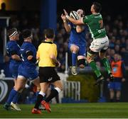 6 April 2019; Barry Daly of Leinster in action against Braam Steyn of Benetton during the Guinness PRO14 Round 19 match between Leinster and Benetton at the RDS Arena in Dublin. Photo by David Fitzgerald/Sportsfile