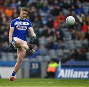 6 April 2019; Evan O'Carroll of Laois during the Allianz Football League Division 3 Final match between Laois and Westmeath at Croke Park in Dublin. Photo by Ray McManus/Sportsfile