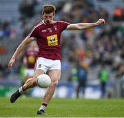 6 April 2019; John Heslin of Westmeath during the Allianz Football League Division 3 Final match between Laois and Westmeath at Croke Park in Dublin. Photo by Ray McManus/Sportsfile