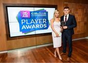 6 April 2019; Dr Crokes footballer Gavin White and Tara Casey at the AIB GAA Club Player 2018/19 Awards at Croke Park in Dublin. Photo by Stephen McCarthy/Sportsfile