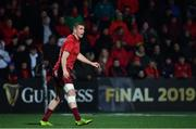 5 April 2019; Chris Farrell of Munster during the Guinness PRO14 Round 19 match between Munster and Cardiff Blues at Irish Independent Park in Cork. Photo by Ramsey Cardy/Sportsfile
