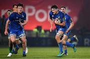 6 April 2019; Max Deegan of Leinster during the Guinness PRO14 Round 19 match between Leinster and Benetton at the RDS Arena in Dublin. Photo by Ramsey Cardy/Sportsfile