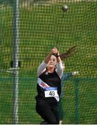 07 April 2019; Michaela Walsh of Swinford A.C., Co. Mayo, competing in the Women's Hammer (4kg) during the AAI National Spring Throws at AIT in Athlone, Co Westmeath.  Photo by Harry Murphy/Sportsfile