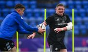 8 April 2019; Tadhg Furlong, right, Garry Ringrose during Leinster squad training at Energia Park in Donnybrook, Dublin. Photo by Ramsey Cardy/Sportsfile