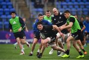 8 April 2019; Jack Dunne  during Leinster squad training at Energia Park in Donnybrook, Dublin. Photo by Ramsey Cardy/Sportsfile