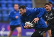 8 April 2019; Robbie Henshaw during Leinster squad training at Energia Park in Donnybrook, Dublin. Photo by Ramsey Cardy/Sportsfile
