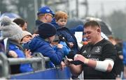 8 April 2019; Tadhg Furlong during a signing session for Leinster Rugby season ticket holders at Energia Park in Donnybrook, Dublin. Photo by Ramsey Cardy/Sportsfile