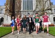 10 April 2019; Attendees at the launch of NUI Galway Scholarships with GPA and WGPA at NUI Galway in Galway. Photo by Piaras Ó Mídheach/Sportsfile